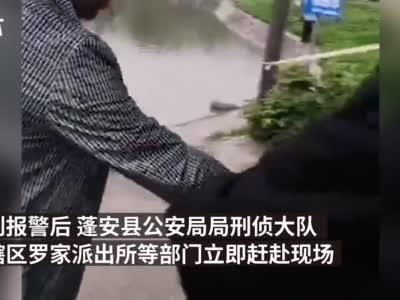 四川两老人因争执相互殴打 一人被捅伤致死