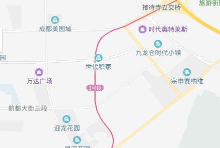 成都双流优品道附近有无地铁规划?官方回复