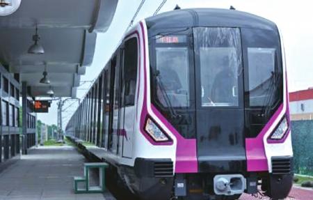 成都地铁5号线一二期北段电通 可与4条线路换乘预计年底开通