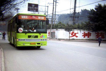 """乐山城区""""学生号""""公交班次本月22日试运行"""