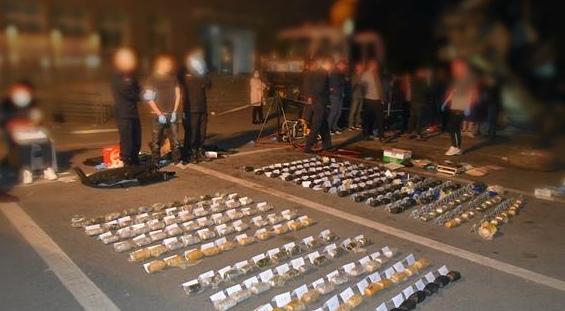 破冰!德阳公安缴获50公斤毒品 摧毁跨境毒品通道