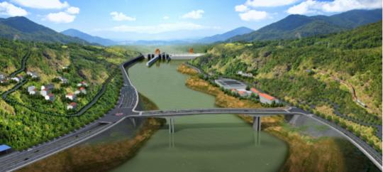 四川重点工程—金沙江银江水电站工程建设正式复工