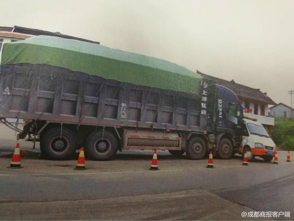 10辆货车安岳集体闯关 一司机致5人伤一审被判2年
