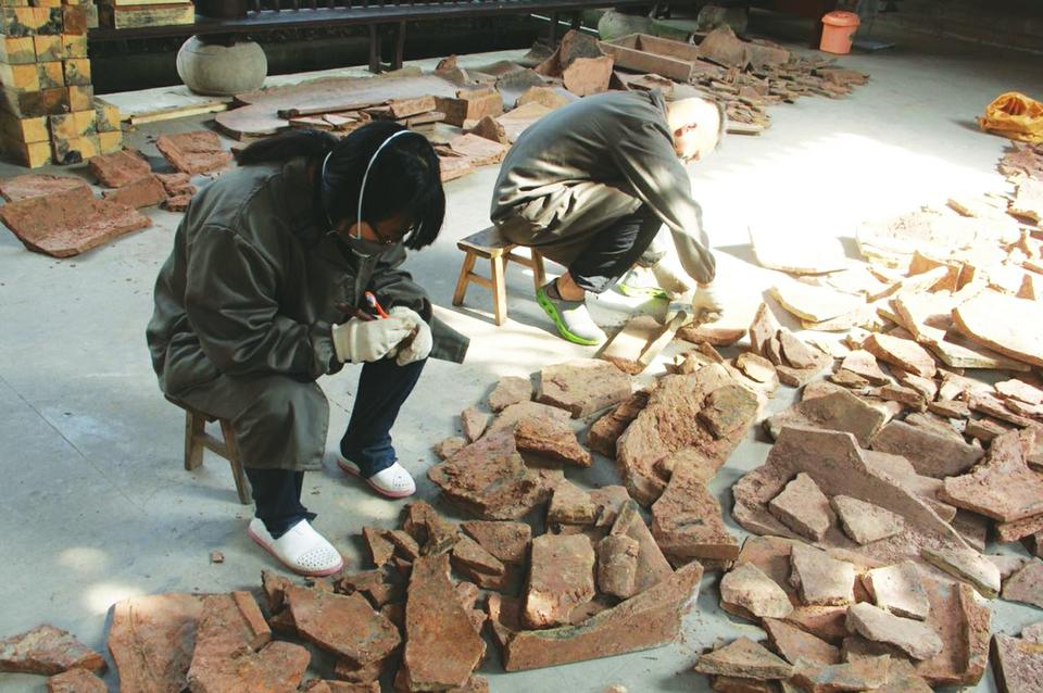 85后陶瓷修复师曹元元:我的眼里只看得到文物