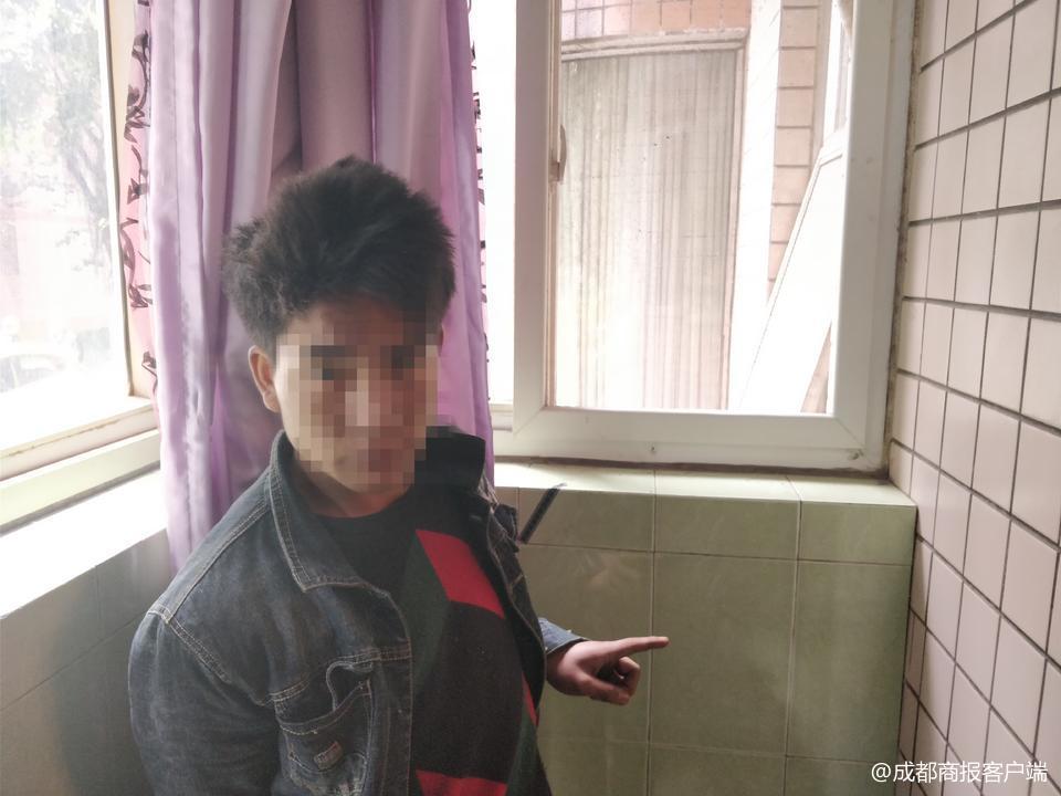 2次行窃成都同一小区同一单元 窃贼因杀马特发型被锁定