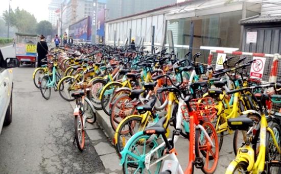 共享單車亂象未明顯改善 成都4家企業被罰12000元