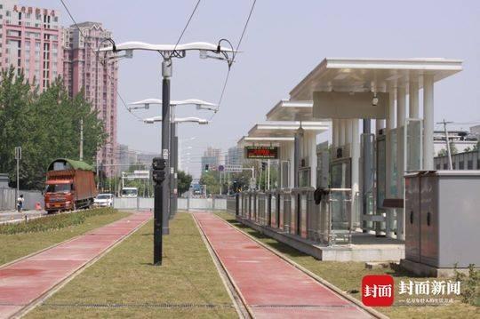 成都首条有轨电车年底开通试运营 首开段有12个车站