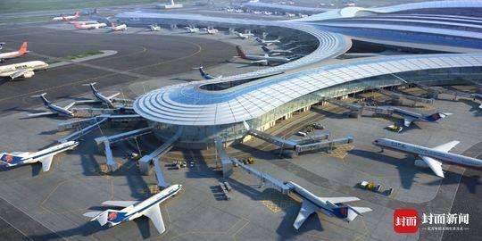 天府国际机场 太阳神鸟展翅飞全球