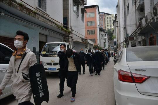 四川广元警方破获特大电信网络诈骗案 抓获嫌犯32人