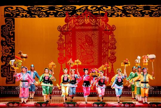 川北灯戏 唱进国家大剧院
