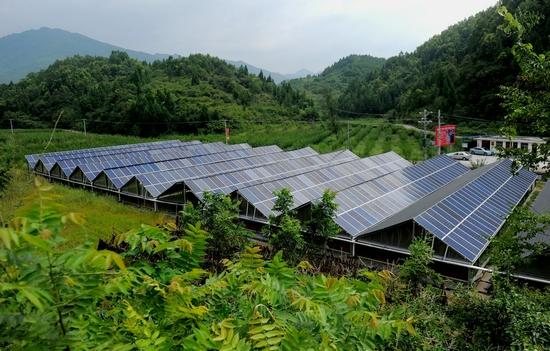 旺苍县被列为全国整县屋顶分布式光伏开发试点县