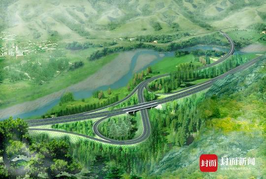 连接青海、新疆大通道 久马高速最新设计图曝光