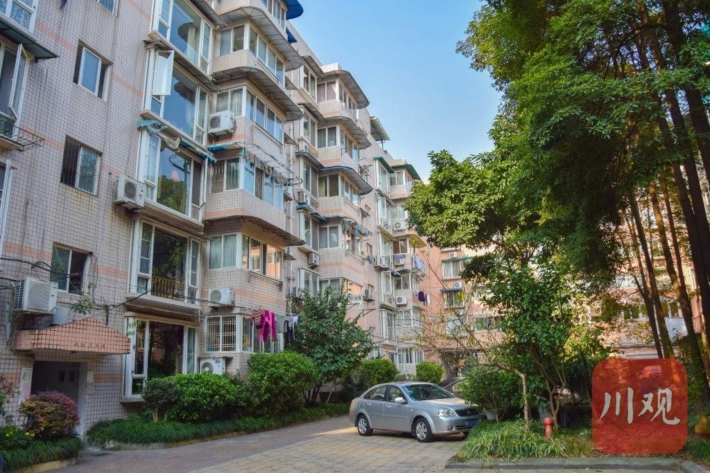 向阳花园B区因居民意见不一致,还没安装电梯的楼幢
