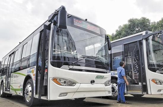 车载WiFi+360度全景监控 成都下月再添80辆新能源公交