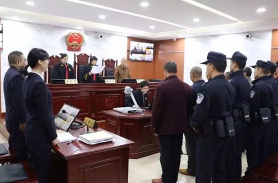 蒲江县法院公开开庭审理滥伐林木案件 5名嫌犯被判刑