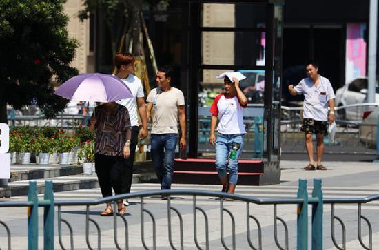 乐山城区地表温foganglao论坛度高达52.8℃ 雨已在路上