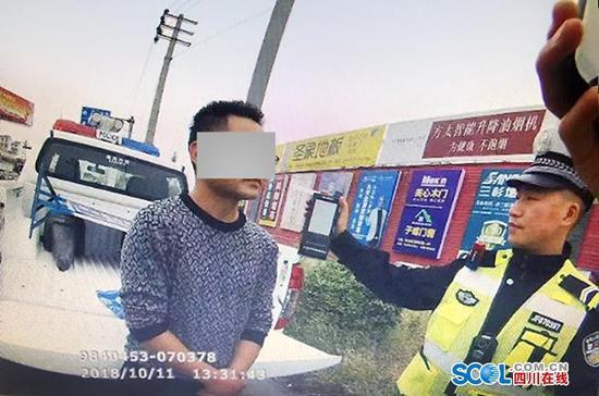 德阳什邡一驾校教练酒驾 被记12分罚1900元暂扣驾驶证