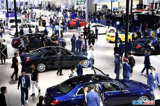2019成都国际车展落幕 卖车超3.2万台