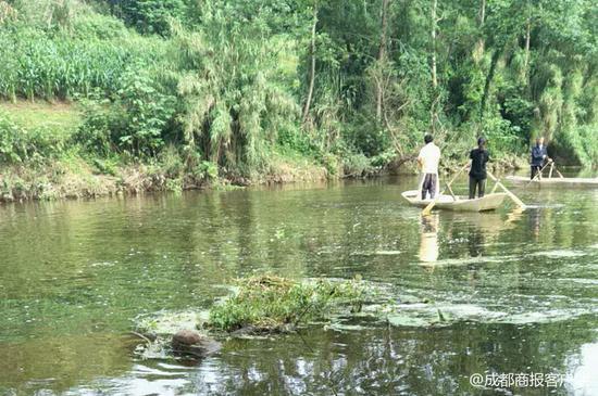 资阳安岳初中学生下河洗澡失踪 当地正组织搜寻