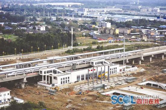 成蒲铁路年内有望开通 每天开行列车不少于30对