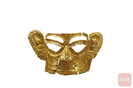 迄今为止最大完整黄金面具