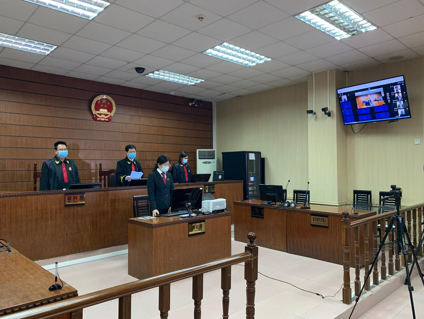 ▲31日,东莞市第三人民法院对女婴被砸伤案作出判决。图据东莞市第三人民法院
