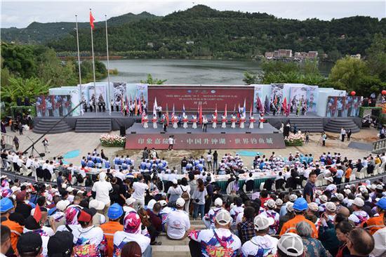 中国升钟湖 世界钓鱼城
