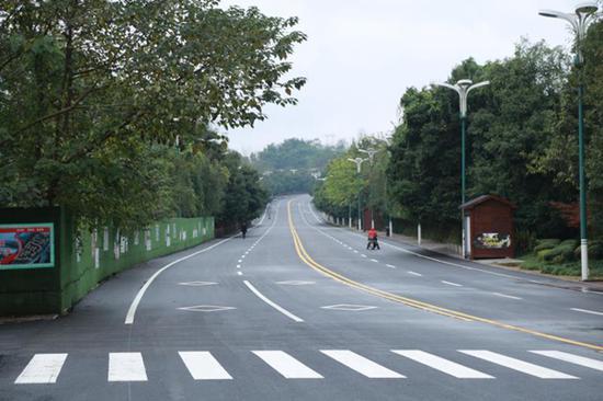 彻底整改后 广安小平故里路重新对社会车辆开放通行