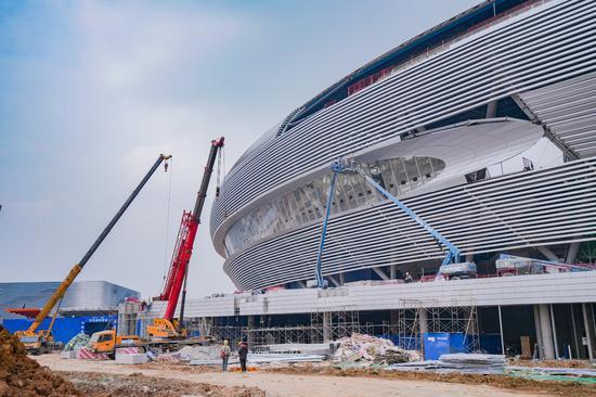 """""""飞碟""""即将起航 大运会主场馆基本建成"""