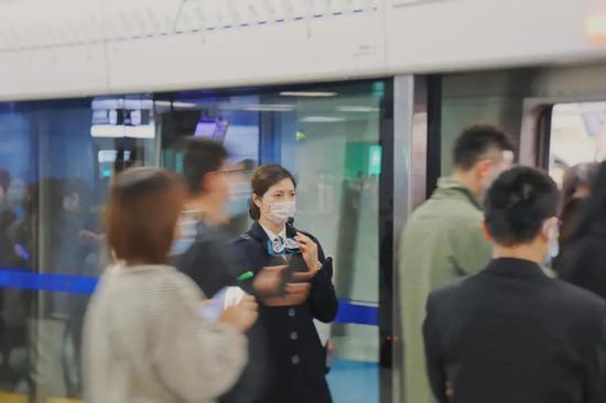 成都轨道交通单日客运量首次突破600万 单日进站量最高的站是