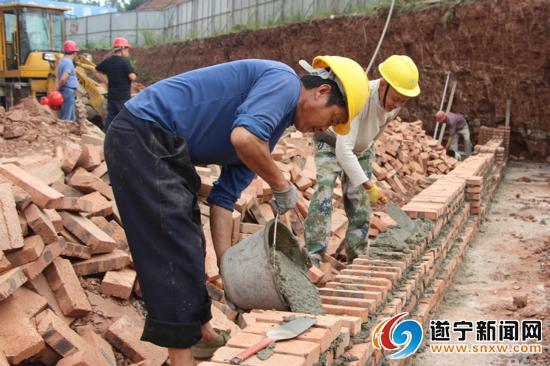 遂宁高新区北部片区棚户改造项目(一期)预计8月底全面竣工
