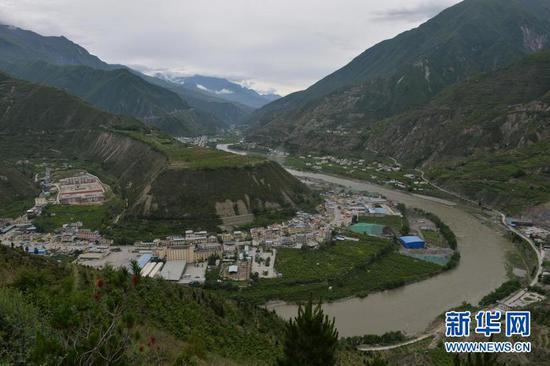这是5月27日拍摄的营盘山遗址。新华社记者刘梦琪摄
