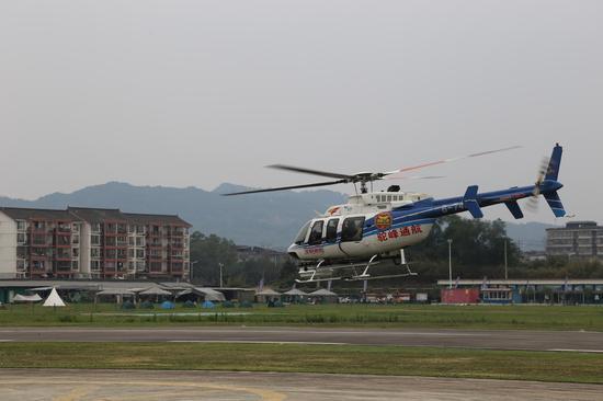 西南空管局对天府机场及周边进行干扰排查