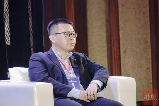 成都微积分集团股份有限公司运营事业部总经理贾亮。 郝飞 摄