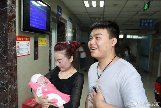 """珙县5.4级地震81号帐篷产妇生了 宝宝小名叫""""希希"""""""