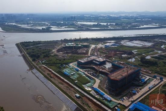 江口沉银博物馆预计明年底竣工 以后在江边就能看文物啦