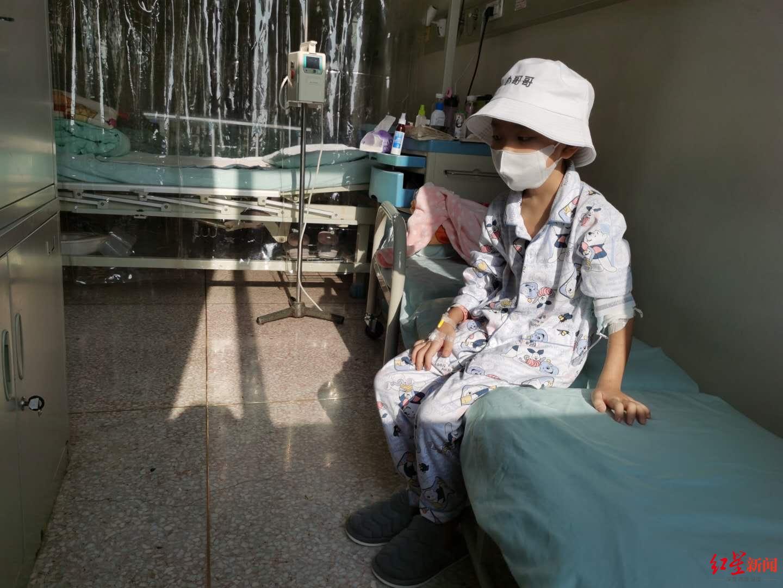 小安住院时