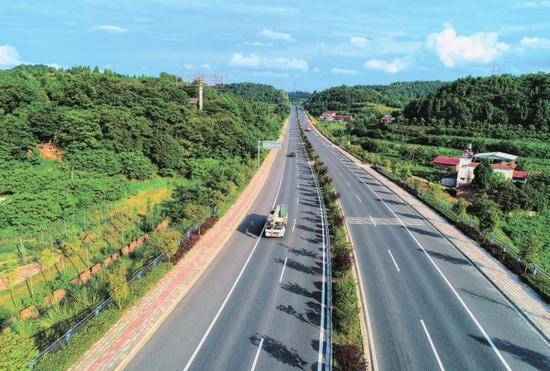 打通对外大通道完善市域路网 射洪1.5小时交通圈辐射周边市县