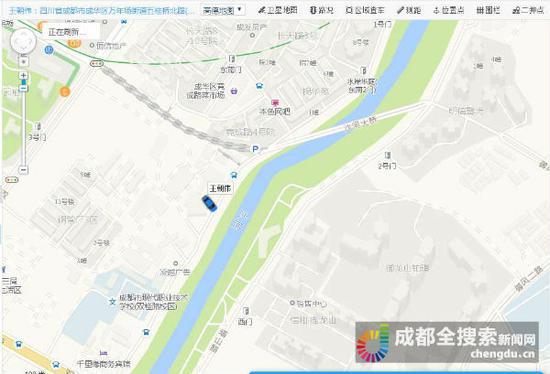2日,王先生通过GPS找到了车辆