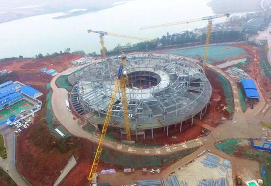 """淮州新城""""鸟巢""""项目最新进展在这里"""
