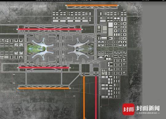 天府国际机场设计图