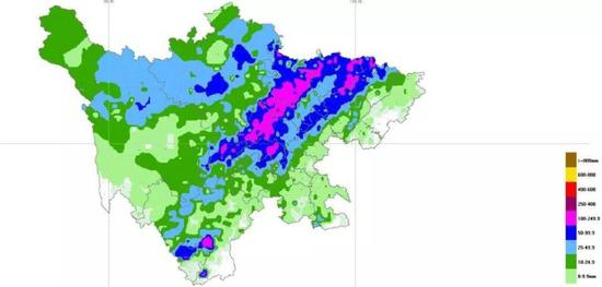 四川盆地迎来第六场区域性暴雨 多地日降雨量突破历史极值