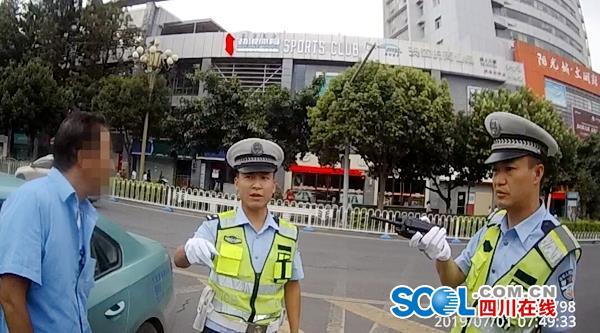 西昌查處首例出租車酒駕!吊銷駕照 公司負責人也被約談