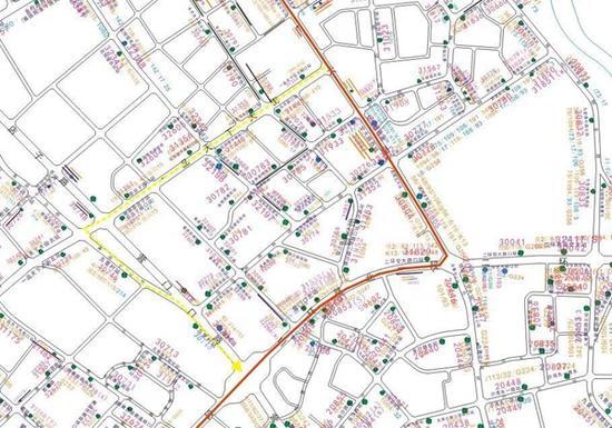 成都交大路地铁6号线施工 本周六起3路等8条公交线路调整走向