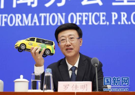 四川省交通运输厅厅长罗佳明(图片来源:国新办网站)