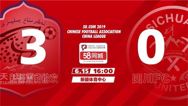 客场0:3不敌新疆 四川FC拉响保级警报