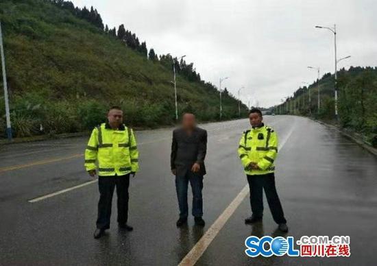 遂宁交警3小时快速破获一起交通肇事逃逸致人死亡案