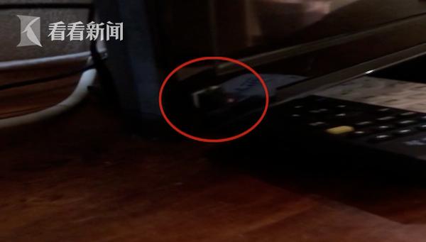 酒店房间电视上惊现摄像头 住客拒绝补偿已报警