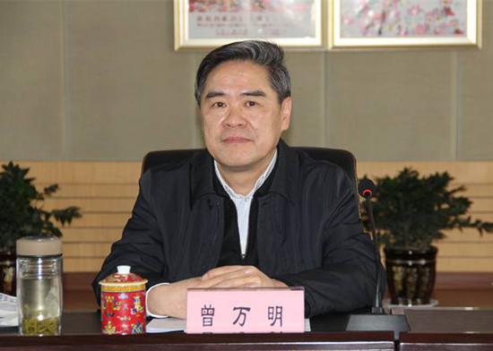 曾万明 资料图省级党委组织部部长调整仍在继续。