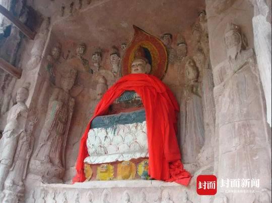 省文物局实地勘察13处被涂妆石刻 其中大部分为县级文物保护单